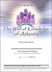 Zertifikat - Access to the Well of Knowledge of Atlantis